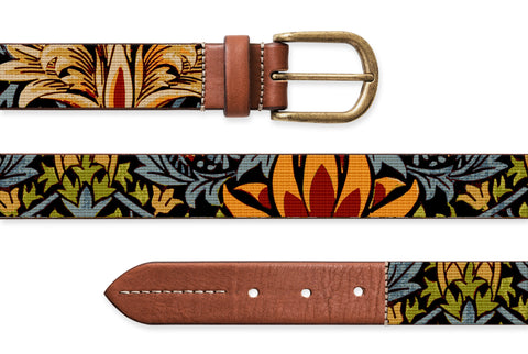 Snakeshead, Needlepoint Belt