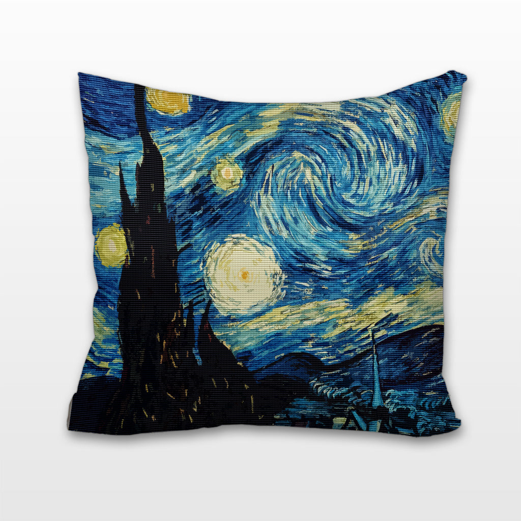 Starry Night, Cushion, Pillow