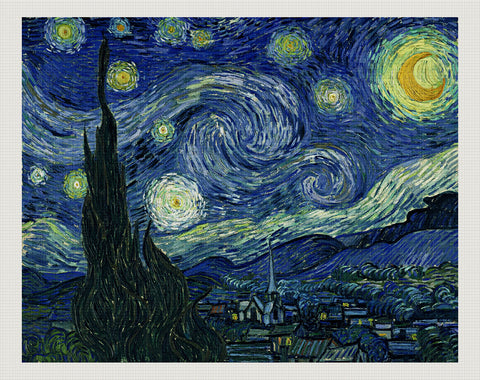 Starry Night, Vincent van Gogh