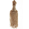 Traditional Silky Tassels - Champagne, For Finishing
