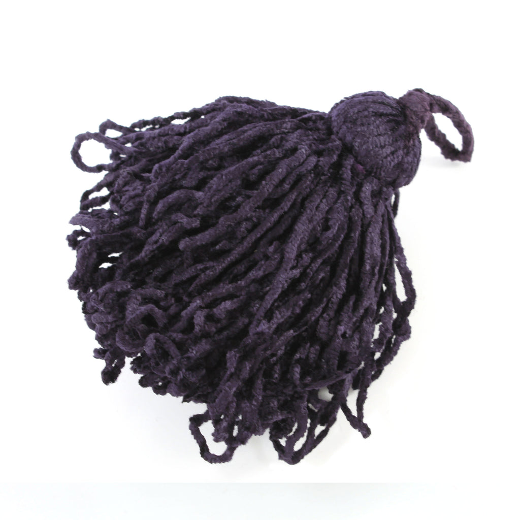 Poodle Tassels - Onyx, For Finishing