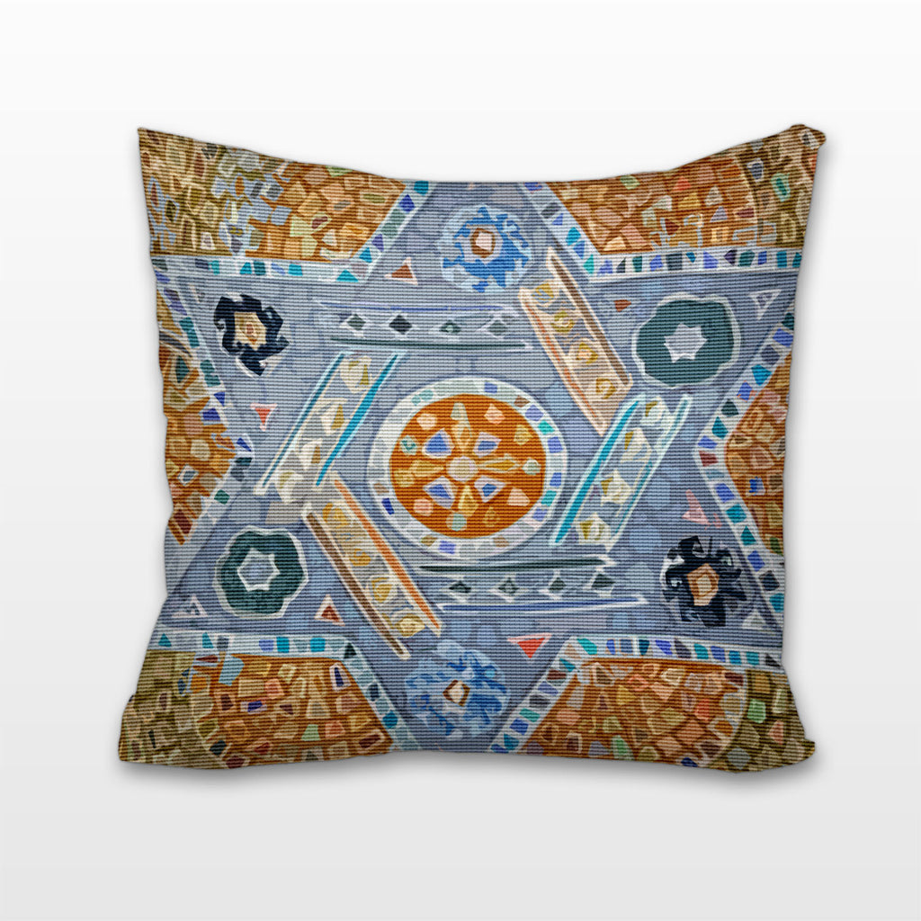 Florentine Star of David, Cushion, Pillow