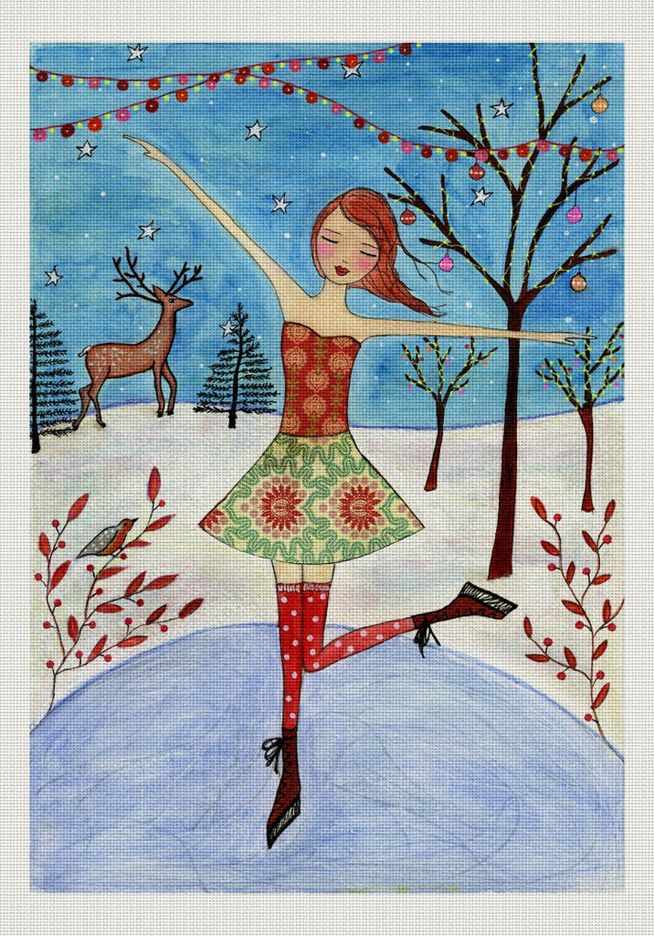 Winter Skater, Sascalia