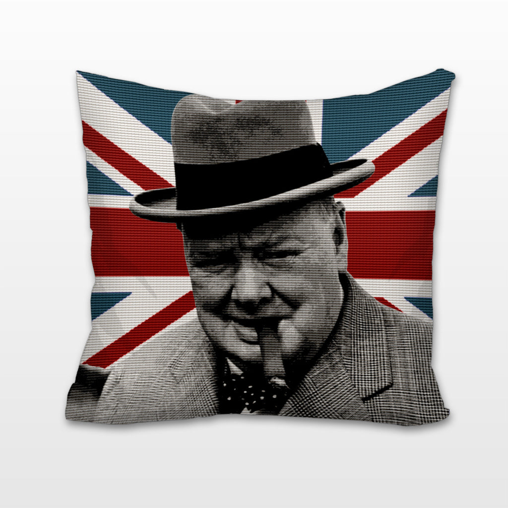 Winston Churchill, Cushion, Pillow