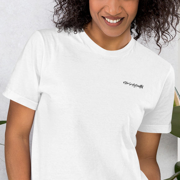 Limited Edition #IAmSimplyBeautiful Embroidered T-Shirt