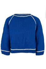 Edie 3/4 Sweater Blue