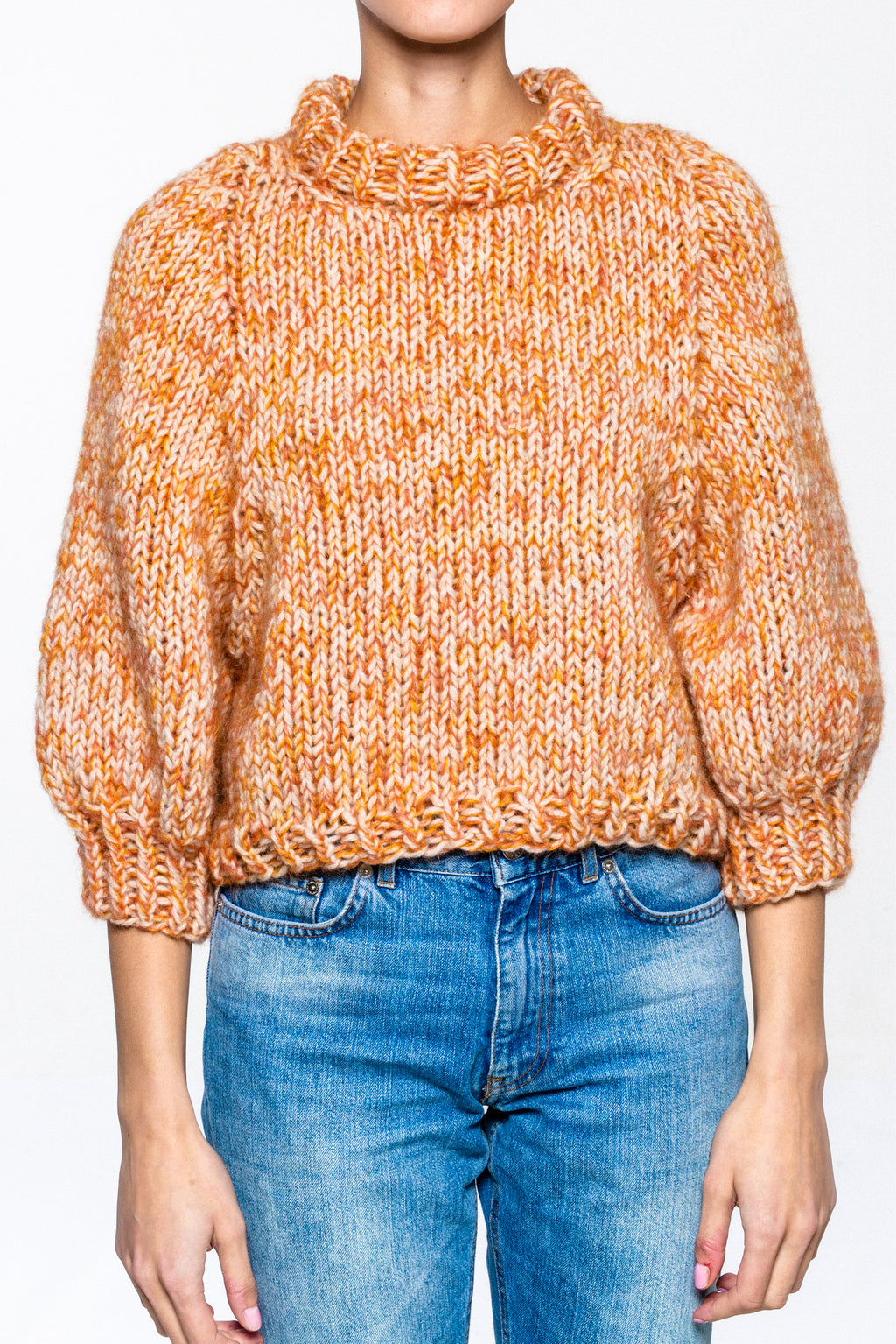 Camille Sweater Orange - Sample
