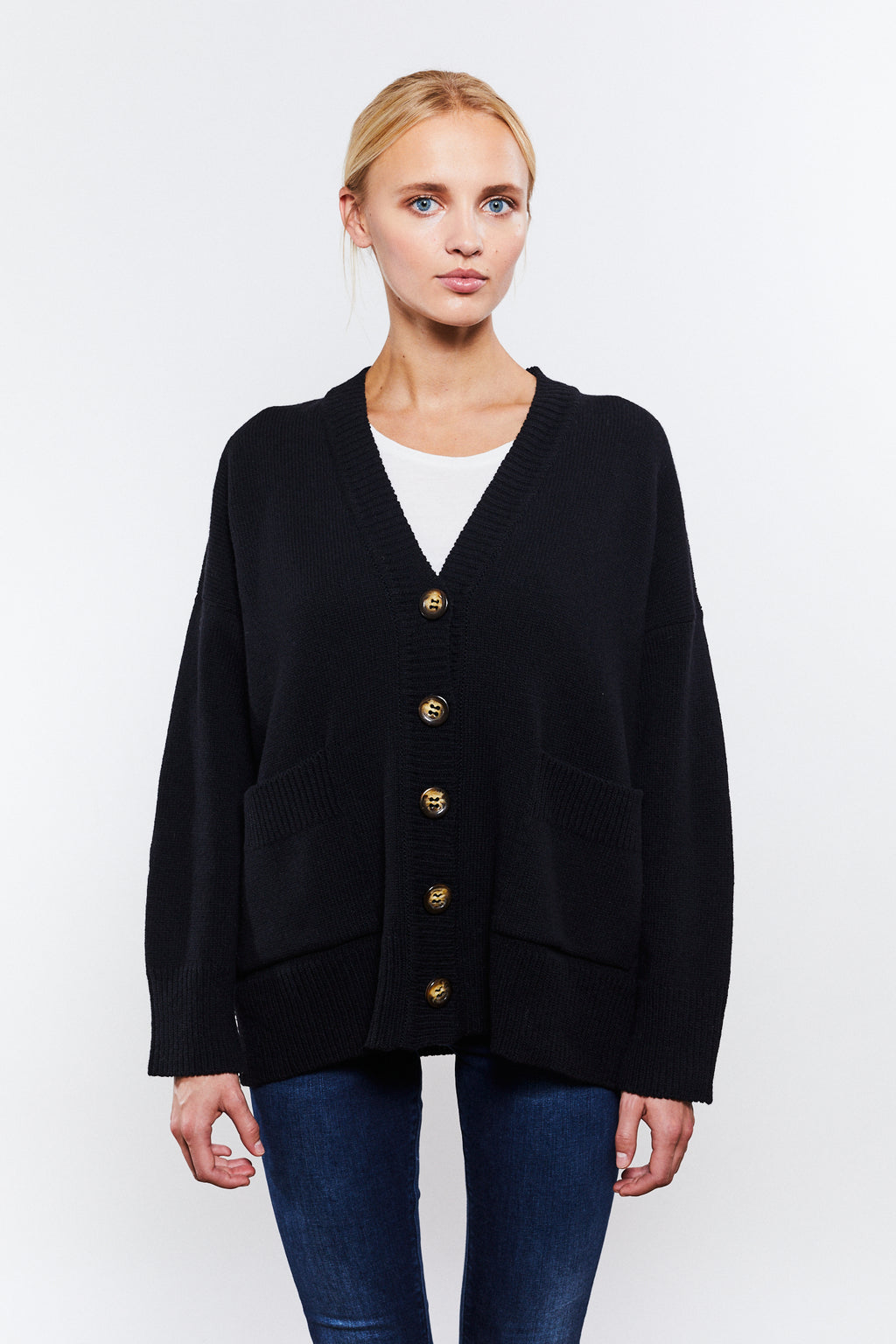 Phoebe Cardigan Black