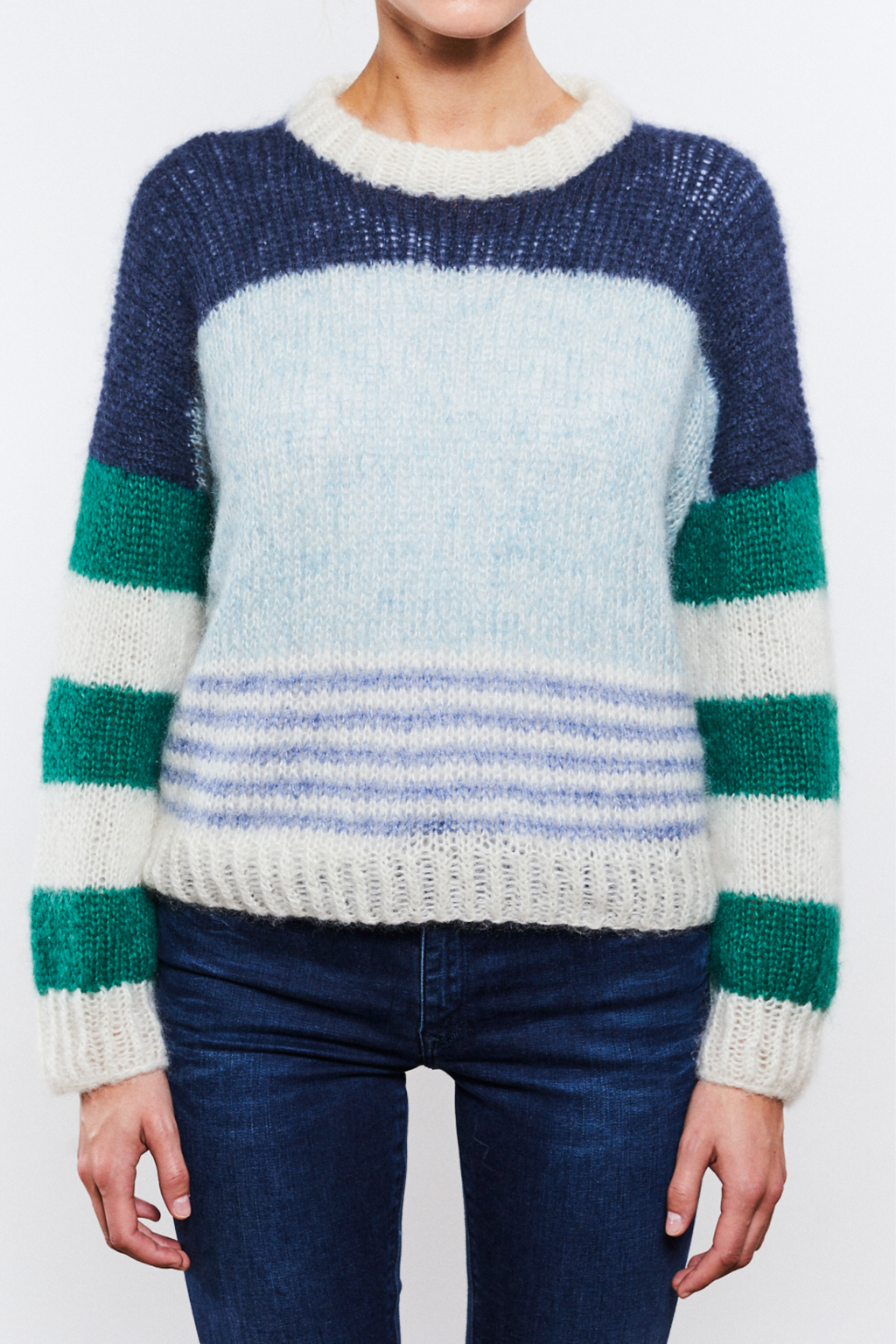 Alex Sweater Mohair Edition Blue