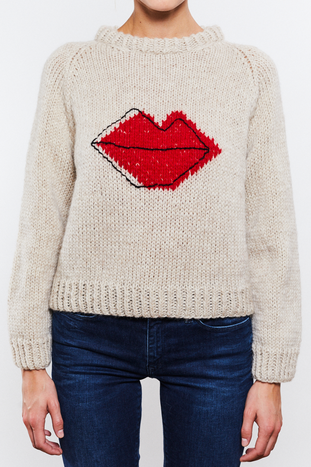 Lips Sweater