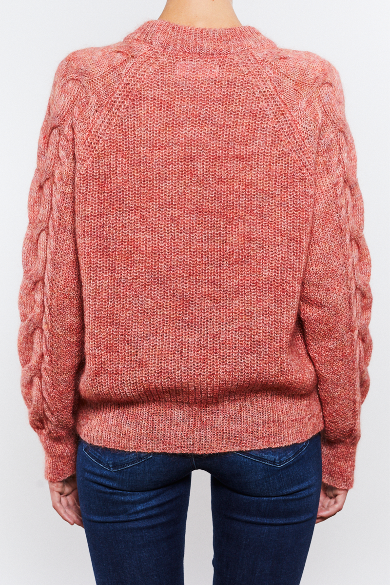Rachel Sweater Coral - Sample