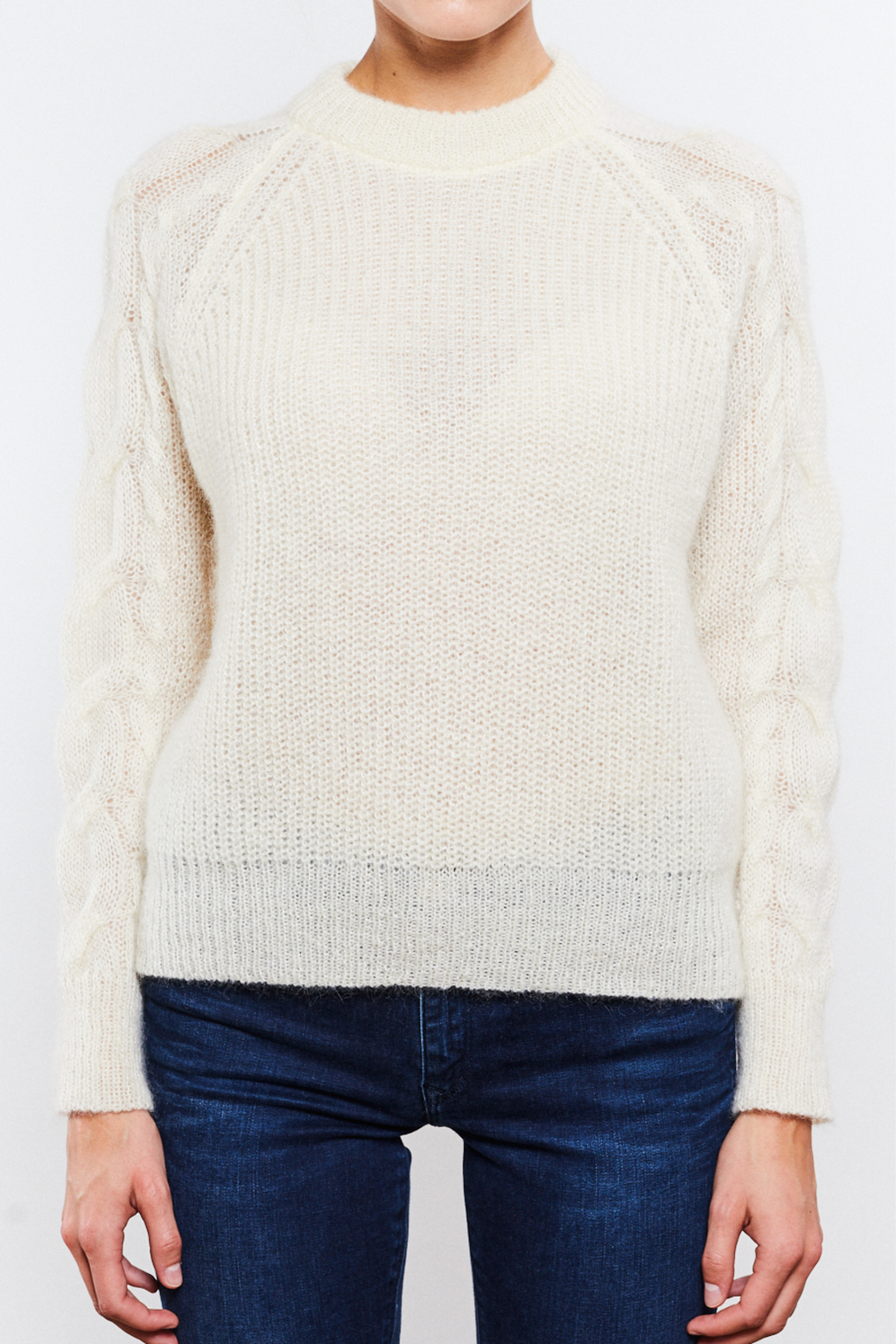 Rachel Sweater White