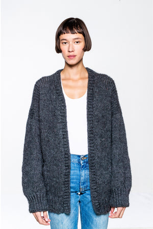 Kris Cardigan Dark Grey