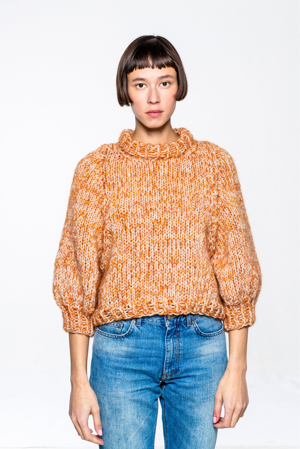 Camille Sweater Orange