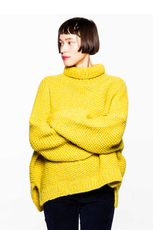 Mags Sweater Yellow