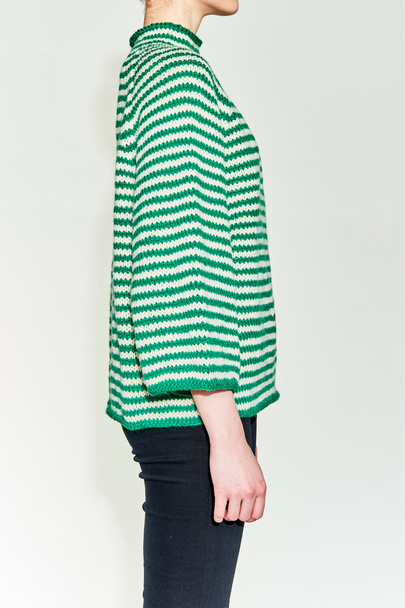 Arja Sweater Green