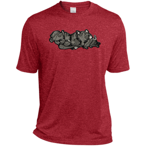 bear - TST360 Tall Heather Dri-Fit Moisture-Wicking T-Shirt