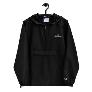electronic_chronic - Embroidered Champion Packable Jacket