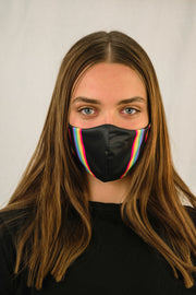 Rainbow Face Mask