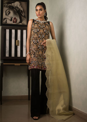 MAYSURI SCALLOPED DUPATTA