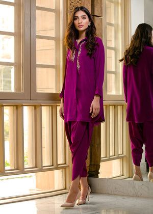 CREPE PLAIN PATYALA PANTS