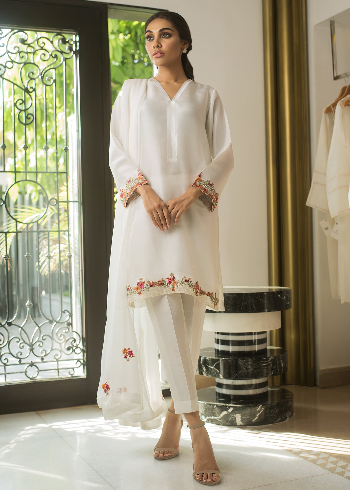 CHIFFON EMBROIDERED DUPATTA II