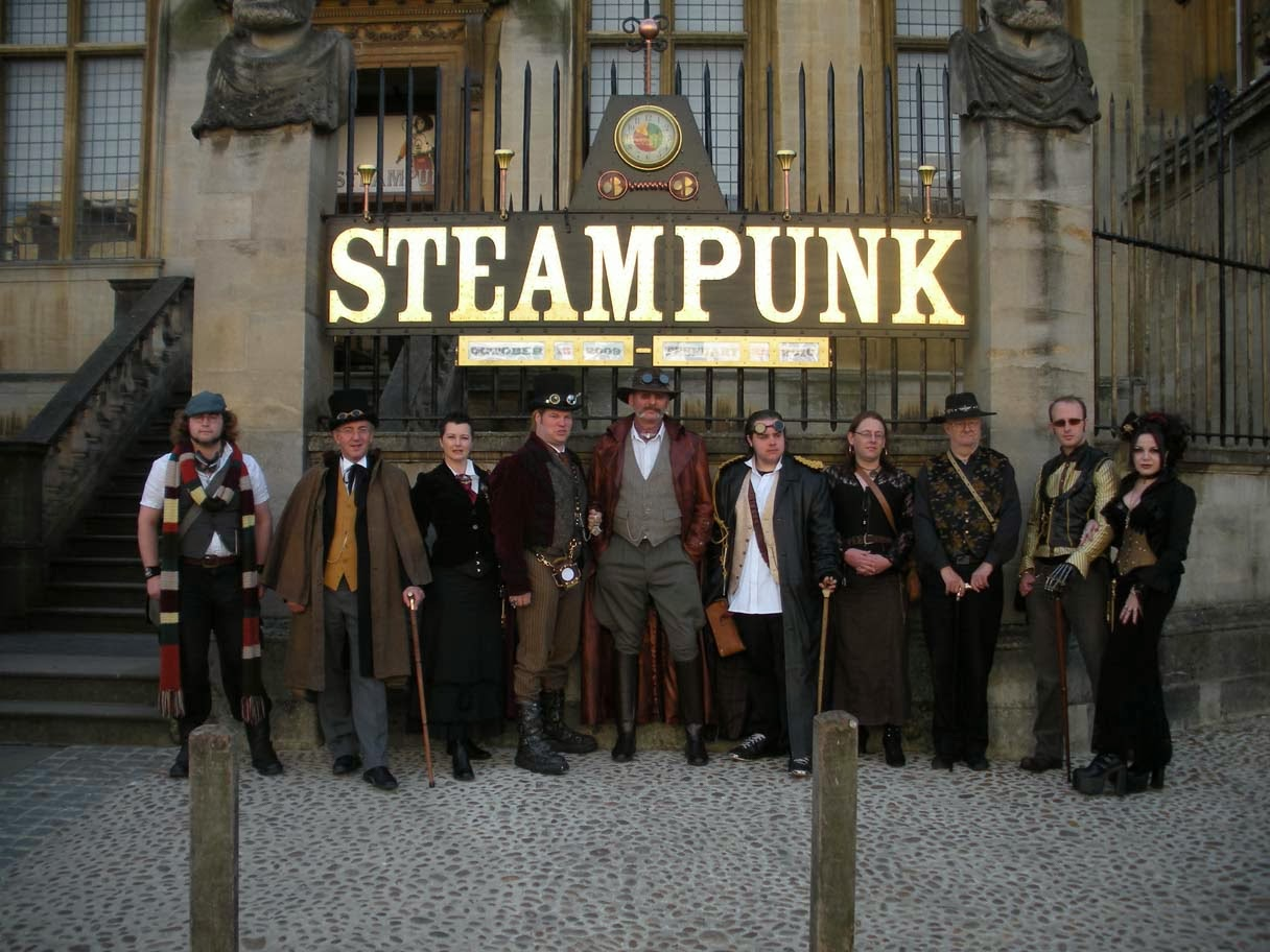 Steampunk Oxford Exhibition