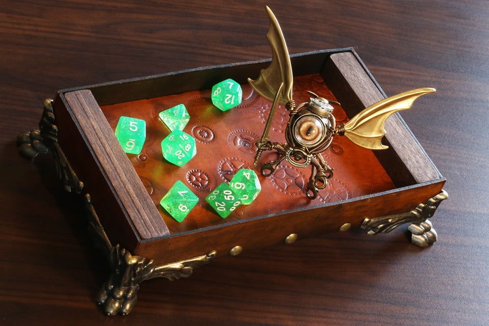 Modron Dice Rolling Tray - The Wizard's Vault