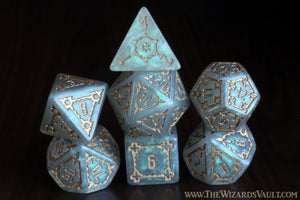 Celestial Citadel - 25mm Large Dice Set - The Wizard's Vault