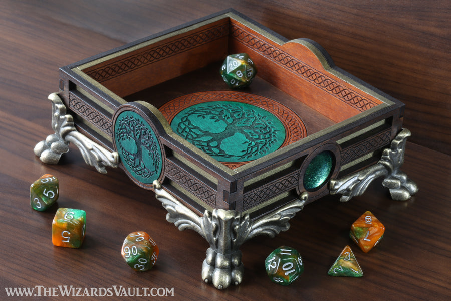 Tree of life dice tray - The Wizard's Vault