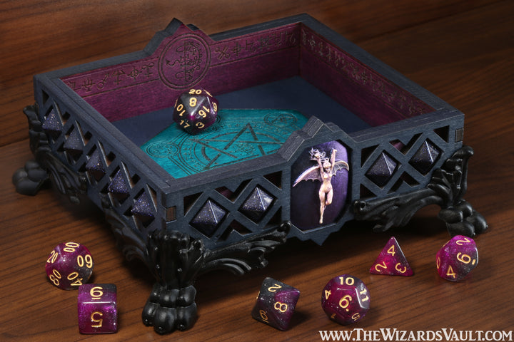 Succubus dice tray - The Wizard's Vault
