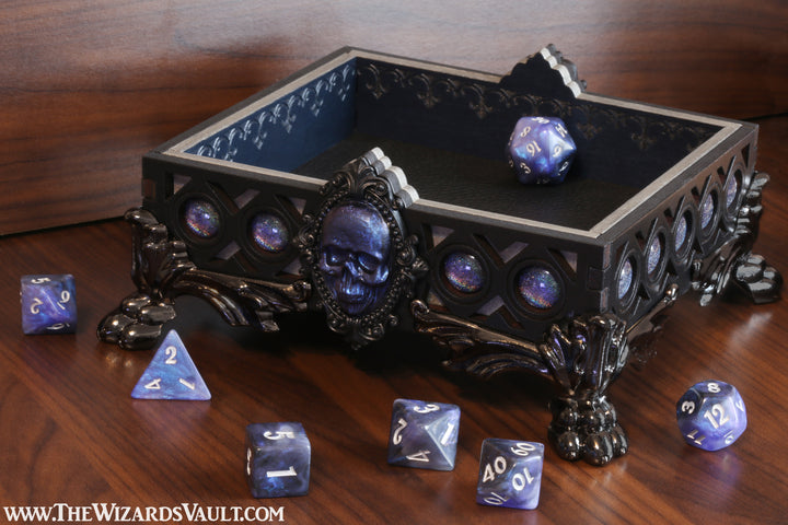 Necromancer dice tray - The Wizard's Vault