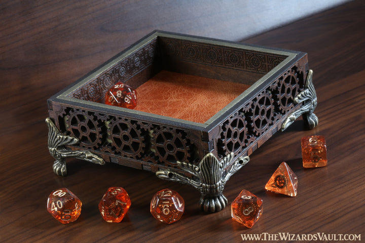 Gnome artificer dice tray - Small - The Wizard's Vault