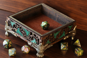 Elven dice tray - Small - The Wizard's Vault