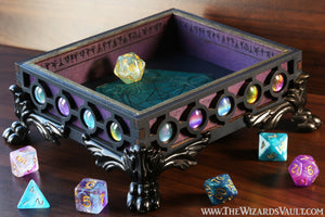 Galaxy palette dice tray - The Wizard's Vault
