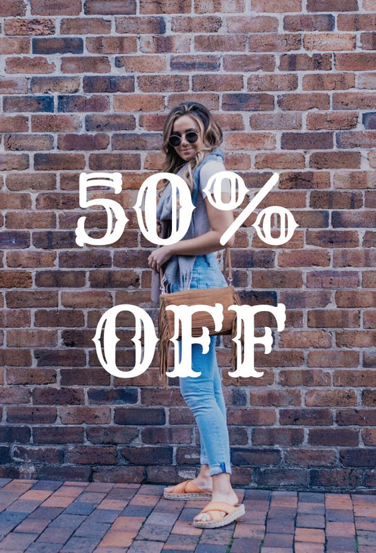 50 % discount store wide