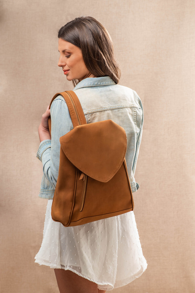 Mantra Backpack - Dull Tan