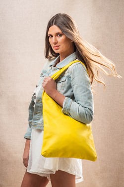 Vinyasa Slouch Bag - Yellow