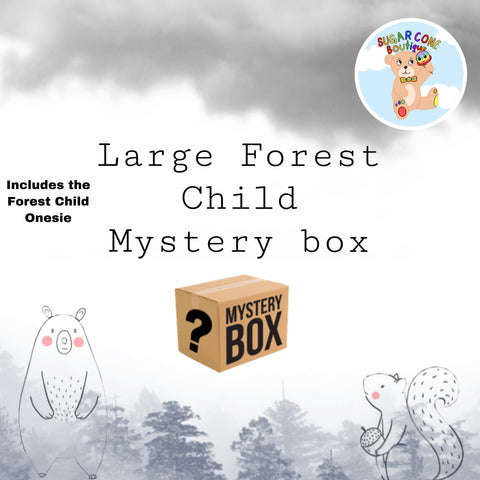 Large Forest Child Box