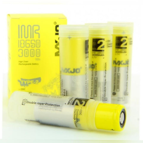 MXJO 18650 3000mAh Flat Top Battery