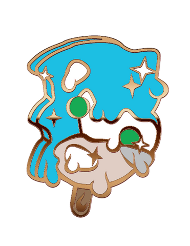Sanic Ice Screams Pin