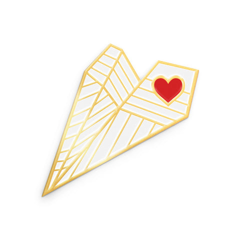 Sending My Love Pin