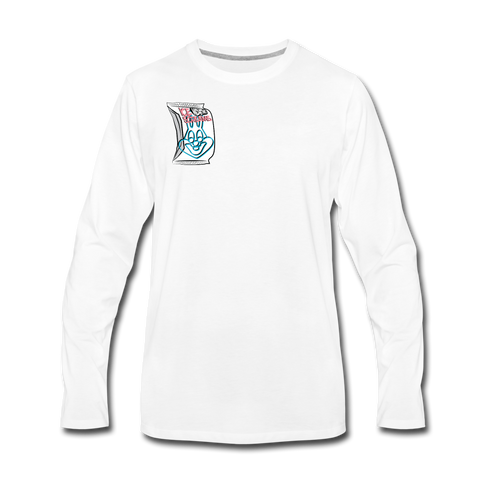 Baggs Bunnie Long Sleeve T-Shirt - white