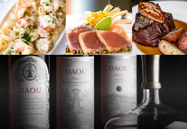 DAOU Vineyard Four Course Wine Dinner at The McKee's