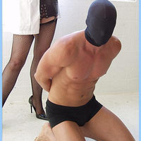 Kink Lab Spandex Hood with Built In Blindfold.