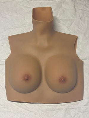 B Cup (tan) Cotton Filled Reg Price $149 (Stock #28)