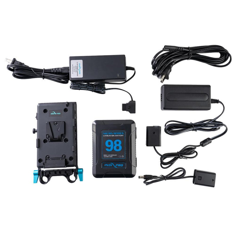 98Wh V-Mount Battery and Complete Power Kit for Sony A7 Series