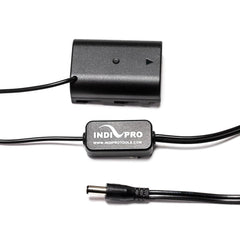**B-STOCK** 2.5mm DC Power Cable to Regulated Panasonic DMW-BLF19 Dummy Battery (24