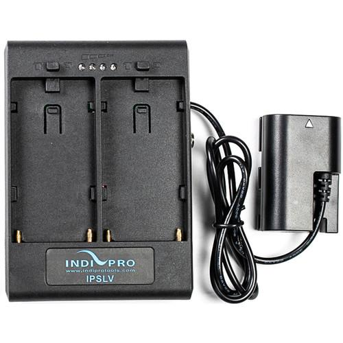 **B-STOCK** Dual Sony L-Series Power Adapter to Canon LP-E6 Type Dummy Battery w/ 1/4-20 Insert