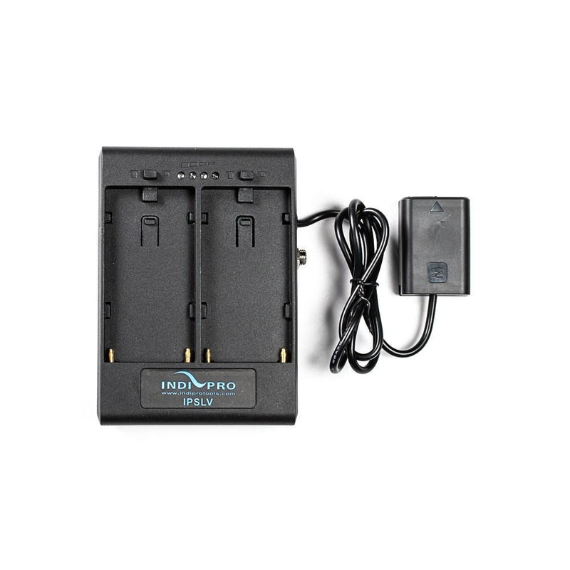 **B-STOCK** Dual Sony L-Series Power Adapter to Sony NP-FW50 Type Dummy Battery w/1/4-20 Insert